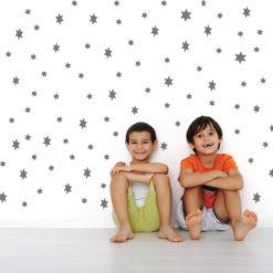 מדבקות קיר לחדרי ילדים