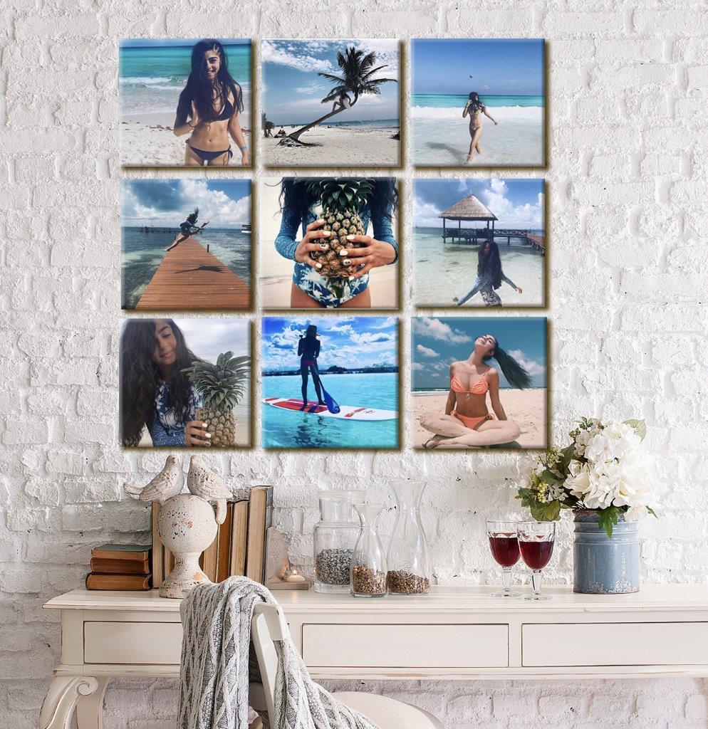 קולאז תמונות לקיר